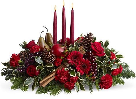Christmas by Candlight Centerpiece